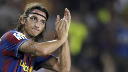 Zlatan Ibrahimovic (Foto: LLUIS GENE/AFP)