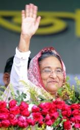 Statsminister Sheik Hasina  (Foto: AFP/Svanpix, ©MUZ/ATO)