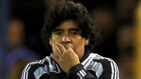Maradona  (Foto: ENRIQUE MARCARIAN/REUTERS)