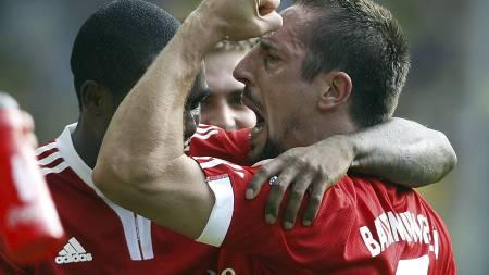Ribery  (Foto: Frank Augstein/AP)
