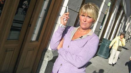 Signe Tynning har ikke tatt en eneste røyk etter at hun sluttet å røyke 1. november 2009 (Foto: God morgen Norge)