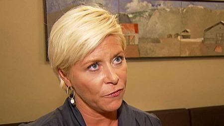Frps partileder Siv Jensen mener Norge har råd til både skattelette og opprusting av eldreomsorgen. (Foto: TV 2)