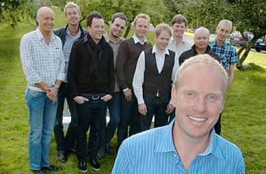 JanErik Kjær jakten på kjærligheten 2009 (Foto: Håvard Solem)