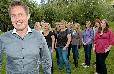 Kristian Akervold jakten på kjærligheten 2009 (Foto: Håvard Solem)