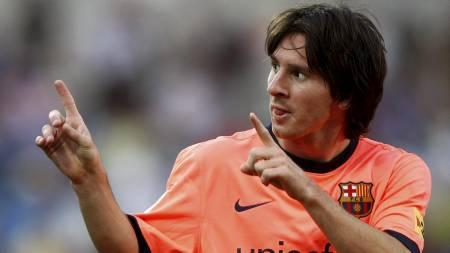 Lionel Messi (Foto: PAUL HANNA/Reuters)