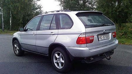 2000 modell BMW X5  3,0i (Foto: Geir Lysnes)