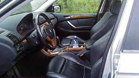 Interiøret i BMW X5 er eksklusivt. (Foto: Geir Lysnes)