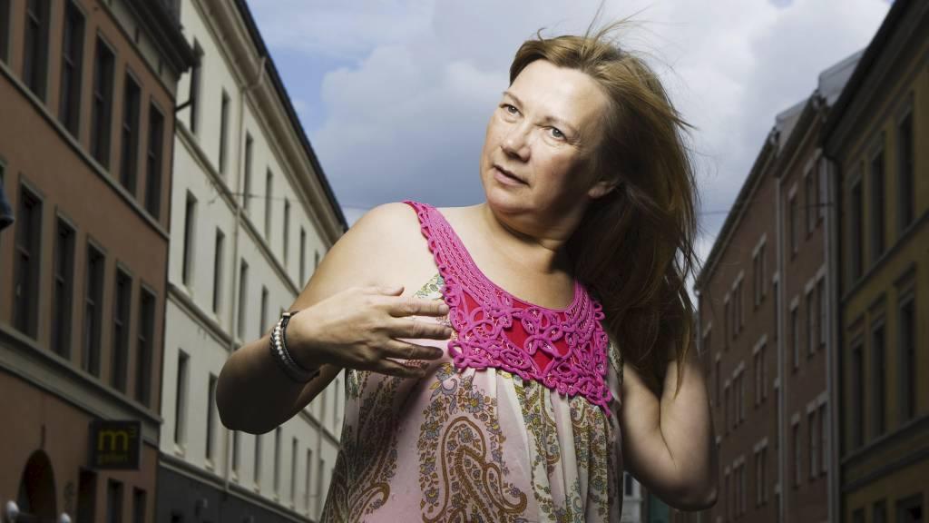 Artisten Mari Boine fotografert i forbindelse med sin nye CD «Sterna Paradisea». (Foto: Roald Berit/SCANPIX)