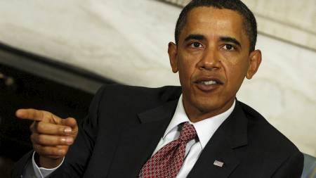 USAs president Barack Obama er tildelt Nobels fredspris 2009.  (Foto: Aude Guerrucci / POOL/EPA)