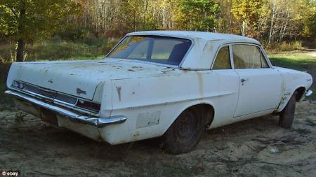 Selgeren visste ikke hvor spesiell bil han hadde lagt ut for salg. (Foto: eBay)