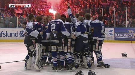 Sparta vant NM-finalen for første gang på 22 år. (Foto: TV 2/)