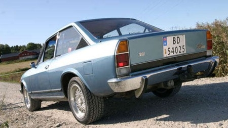 1976 Fiat Sport Coupe (Foto: Christer Lundem)