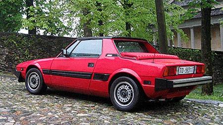 Fiat X1/9 (Foto: Public domain. Foto: Daniele Accornero)