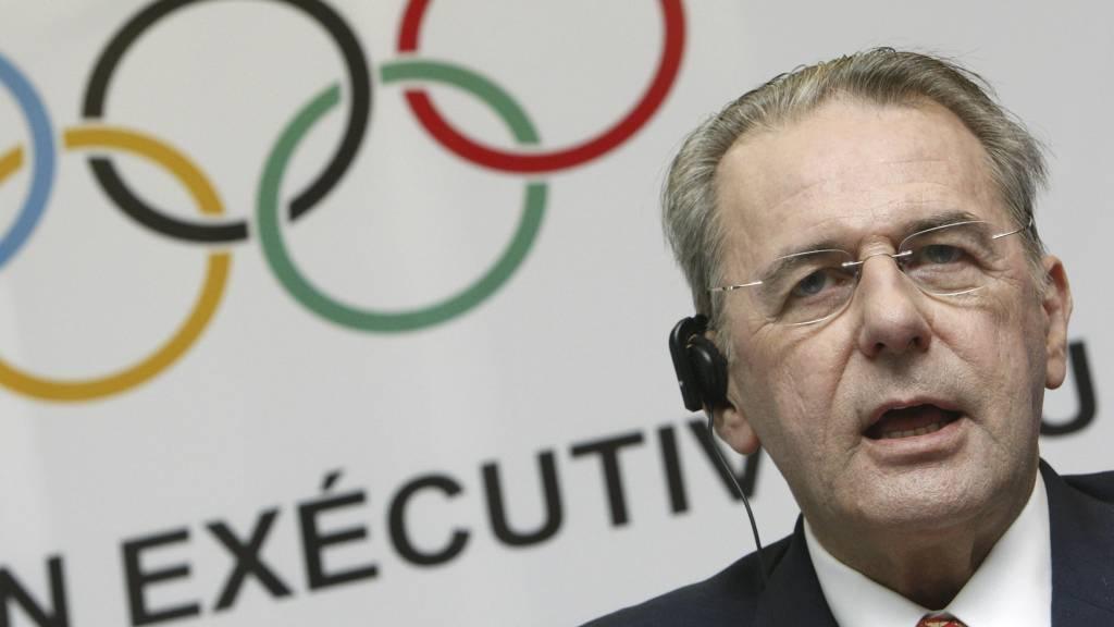 President for IOC, Jacques Rogge, gir ikke opp i kampen mot doping. (Foto: Michael Sohn/AP)