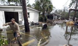 Orkanen Ivan raserte Orioli Beach i september 2004. Uværet tok livet av 25 mennesker i Florida og Alabama.