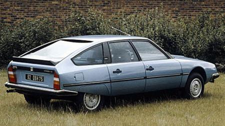 Dette er en Citroën CX GTI fra 1981. Den er også en klassiker.