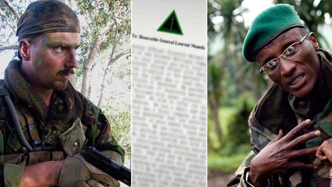 Tjostolv Moland (v) skal ha sendt et brev til general og opprørsleder Laurent Nkunda.  (Foto: Privat/Scanpix)
