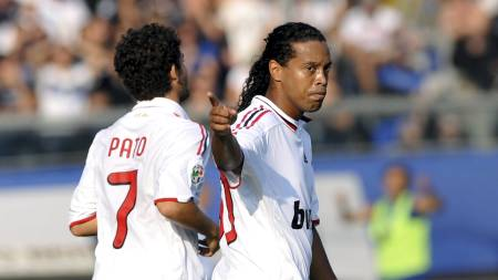 Ronaldinho (Foto: GIUSEPPE CACACE/AFP)