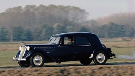 Traction Avant var tidlig ute med forhjulstrekk. Dette er en B15 fra 1951