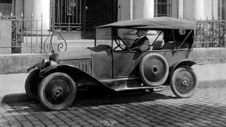 Det var med denne det begynte. Dette er en Type A fra 1919.