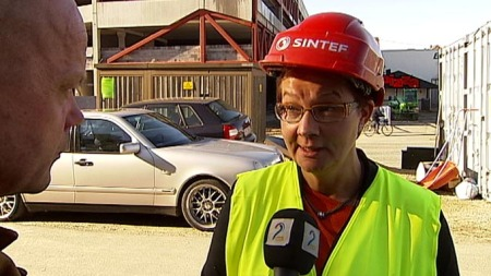 administrerende direktør i Sintef Byggforsk, Hanne Rønneberg sier Norge kan spare mye energi gjennom bygge energiøkonomiske hus.