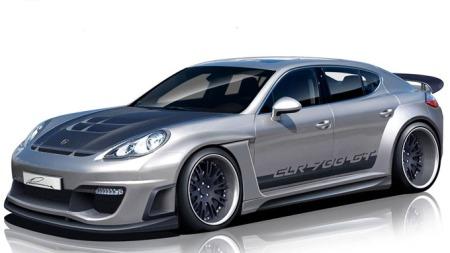 Porsche Panamera - etter at Lumma er ferdig med den.