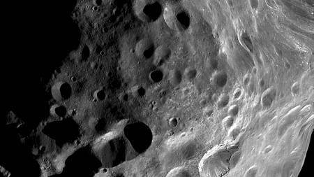 Gigantringen blir sannsynligvis dannet av partikler fra månen   Phoebe. (Foto: -/AFP)