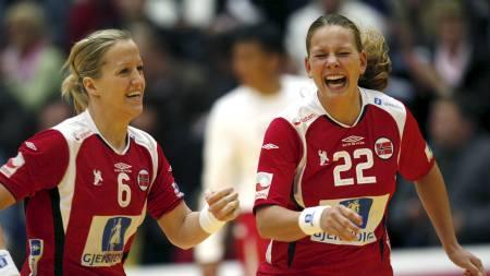 Heidi Løke (t.v.) og Siri Seglem (Foto:   Sigurdsøn, Bjørn/SCANPIX)