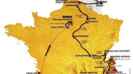 Tour de France 2010 (Foto: Amaury Sport Organisation (ASO)/AP)