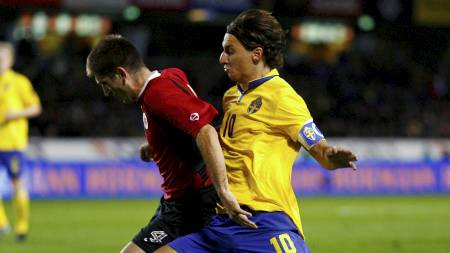 Zlatan Ibrahimovic (Foto: BOB STRONG/REUTERS)