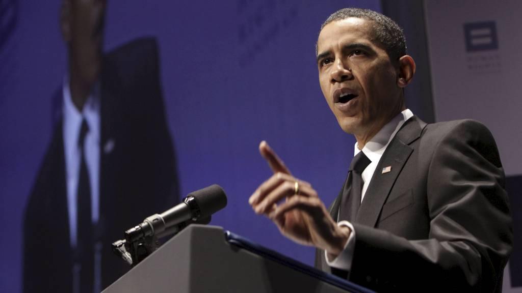 President Obama vil gjøre det lettere å være homofil i forsvaret.  (Foto: YURI GRIPAS / POOL/EPA)