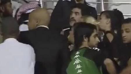 STORMET BANEN: Diego Maradona (Foto: You Tube/)