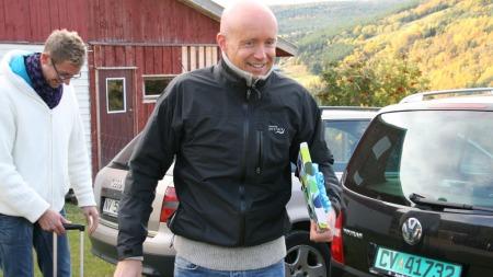 Ole Kristian og Håvard er i godt humør. (Foto: Lasse Sandaker-Nielsen)