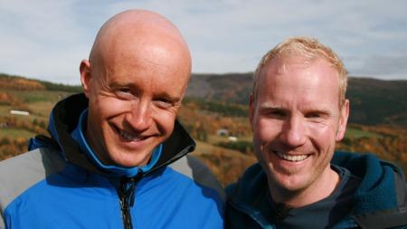 Ole Kristian og Jan Erik. (Foto: Lasse Sandaker-Nielsen)