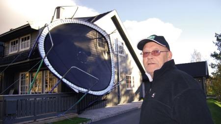 Trond Kristiansen trampoline (Foto: Per Roar Bekken)