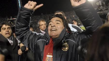 maradona (Foto: Andres Cuenca/AP)