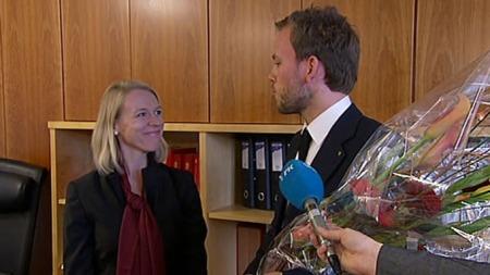Lysbakken og huitfeldt (Foto: TV 2)