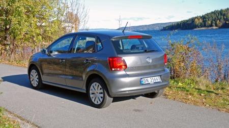 VW Polo er en pen bil.  (Foto: Benny Christensen)