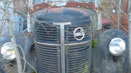Volvo lastebil fra 1953 (Foto: Bilde fra støttegruppen på Facebook)