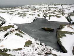 Vinteren kommer på besøk i nord. (Foto: Ronald Toppe)