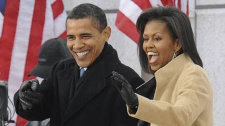10. desember kommer Barack Obama til Oslo for å motta fredsprisen, men fortsatt er det usikkert om han og kona Michelle vil overvære konserten dagen etter. (Foto: JEWEL SAMAD/AFP)