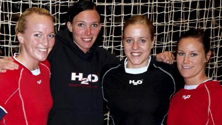 Ingrid Ødegaard, Katja Nyberg, Tonje Nøstvold og Alette Stang (Foto: Andersen, Trine/SCANPIX)