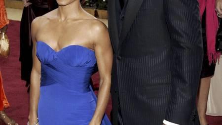 Will Smith og Jada Pinkett Smith skal lede Nobelkonserten. (Foto: DANNY MOLOSHOK/EPA)