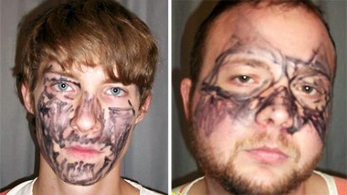 Joey Miller og Matthew McNelly klarte ikke å begå det perfekte innbrudd.  (Foto: AP/SCANPIX)