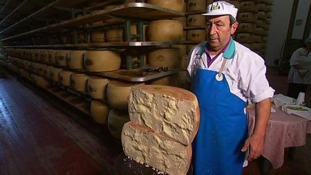 lages parmesan av melk