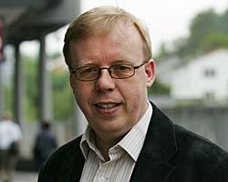 TVILTE: Rune Hauge sier til TV 2 at han tvilte på om Fotballforbundet var villig til å overføre deler av sponsorvirksomheten til et annet selskap.  (Foto: Erlend Aas)