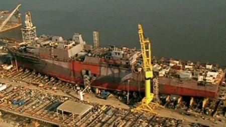 Skipet ble bygget i Louisiana og ble døpt i mars i år.  (Foto: AP)