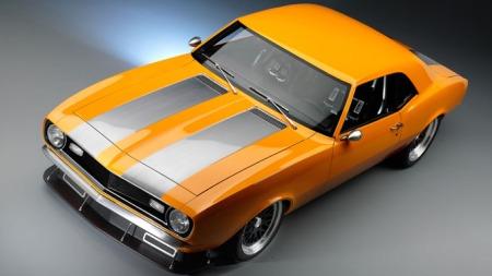 Chevrolet-Camaro-gammel (Foto: SEMA)