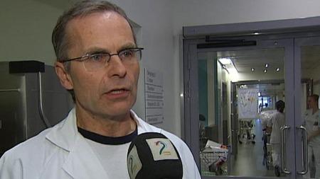 Smittevernoverlege Trygve Olav Tjade ved Ahus sier det kan komme inn pasienter som har svineinfluensa, men som ikke viser typiske symptomer.