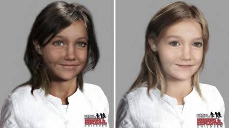 MULIG UTSEENDE: Dataanimerte bilder viser hvordan Madeleine muligens så ut i 2009. (Foto: Ceop/AP)